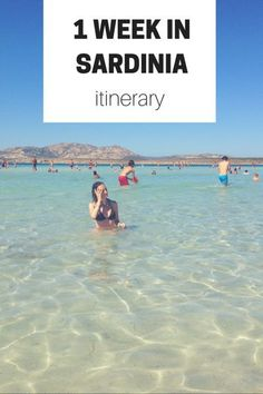 Check out this sample itinerary, plus extra tips and resources, for a week long vacation in Sardinia!