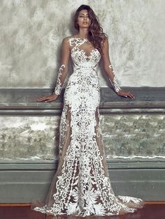 Mermaid wedding dress: the 50 are the most beautiful - wedding dresses- ladies fashion.de wedding dress mermaid wedding dress: The 50 are the most beautiful Wedding dress Wiesbaden # wedding dress # WiesbadenWedding dress ladybird . Dream Wedding Dresses, Bridal Dresses, Wedding Gowns, Party Dresses, Wedding Lace, Mermaid Wedding, Wedding Summer, Party Wedding, Wedding Verses
