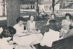 #TBT  Fall 1959  Lynchburg College  https://flic.kr/p/pxXbYU