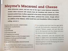 Bean Recipes, Cheese Recipes, Side Dish Recipes, Pasta Recipes, Side Dishes, Cooking Recipes, Pasta Casserole, Casserole Recipes, Macaroni Cheese