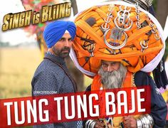 Tung Tung Baje Lyrics from Singh is Bling featuring Akshay Kumar. This punjabi song is sung by Diljit Dosanjh, Nooran sisters Tung tung baje, tung tung baje Tung tung baje, tung tung baje  Lyricsted: http://www.lyricsted.com/tung-tung-baje-lyrics-singh-is-bling-diljit/#ixzz3jxvRLBRc