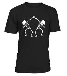 5474b4757 Dabbing Skeleton Shirt Dab Hip Hop Skull for halloween boys . Special  Offer, not