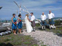 Wedding Rarangi Beach Marlborough New Zealand