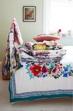 """Summer flowers"" photographed by Joanna Henderson, Homes and Antiques Magazine"