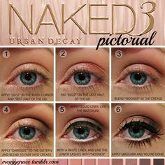 I just received the Naked 3 pallette as a solstice/christmas present from my Mom. This is a must try for my blue eyes.