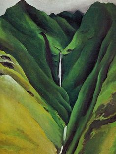 georgia o'keefe hawaii paintings - Google Search