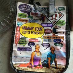 Lululemon tote bag Cute Lululemon tote with zipper top lululemon athletica Bags Totes