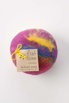 felted soap!