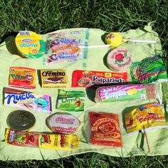 Mexican candy tasting party- might do this on Cinco de Mayo :)