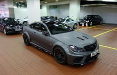 Matte Seal Gray on the Mercedes-Benz C63 AMG Makes The Black Series Look Younger, Not Older
