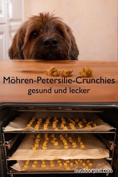 Möhren-Petersilie-Crunchies