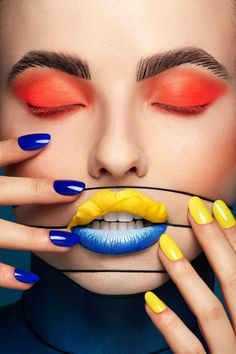 Creative Beauty, Lip Art & Body Painting Makeup by Karla Powell For Kuoni Travel