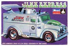 Tom Daniel's Jinx Express, the original design, later reintroduced as the Fast Buck Brink's truck.