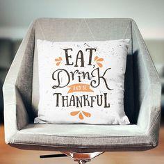 Thanksgiving Pillow  Thanksgiving Pillow Case  Thanksgiving