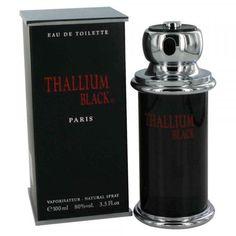 THALLIUM BLACK * YVES DE SISTELLE * Cologne for Men * 3.3 / 3.4 oz * New In Box #YvesDeSistelle