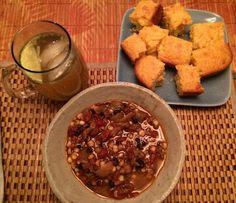 Chicken Chili and Corn Bread | Dish + Drink