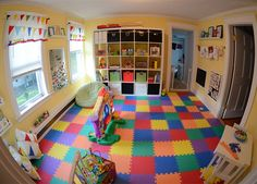 Converting your garage into a playroom