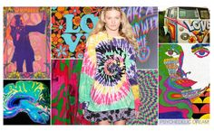 Psychedelic Dream - 2016 Spring/Summer Trend - Juniors - Fad, because this is similar to the flannel style that has its ups and downs. This trend is also a throwback to the 80's proving that this is a trend that comes and goes.