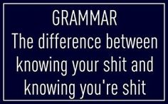 Sorry it's ugly, but I am an English/Grammar teacher and LOVE the principal of this one...lol
