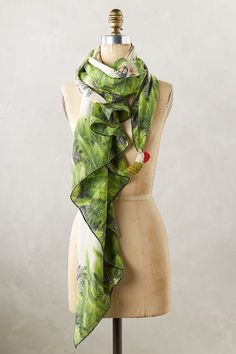 Tropical Diamond Silk Scarf - anthropologie.com #anthroregistry