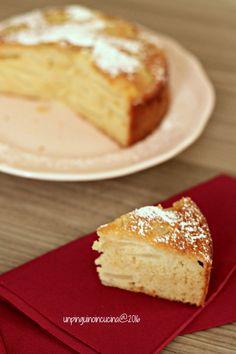 Ricotta and Pear Cake - Torta ricotta e pere   Un Pinguino in Cucina