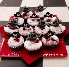 Pirate Muffins Cherries Oats Fruity