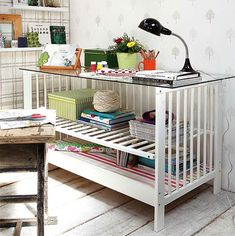 cot or crib desk