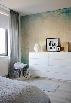 #bedroom #bed #boxspring #interior #interiordesign #schlafzimmer #grau #weiß  #home #ikea #bett #backenzahnhocker #backenzahn #sukkulente | Bedroom ...