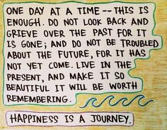 Happiness Is A Journey #quotes #inspirational