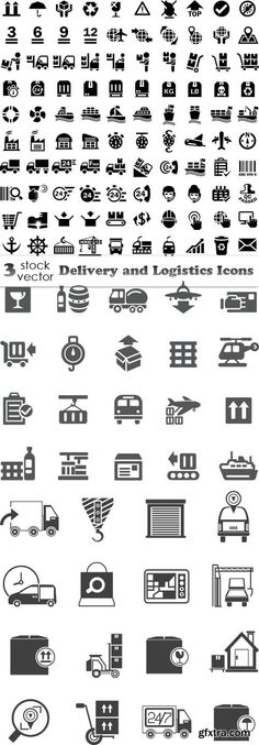 Vectors - Delivery and Logistics Icons