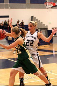 Girl's basketball <3  Sarah in a few years?  :)