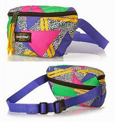 80s style bum bag by Eastpak
