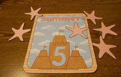 Sandcastle number mats - by Crayonbox Learning