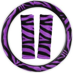 Tiger//Animal Print PU Leather Protective Emergency Wheel Covers
