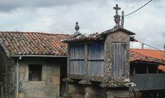 Hórreo en Vilouxe (Ourense).