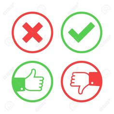 confirm reject vector - Google Search Voting System, Symbols, Peace, Google Search, Logos, Icons, A Logo, Sobriety, World