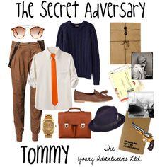 The Secret Adversary: Tommy by monkeytuesdays, via Polyvore
