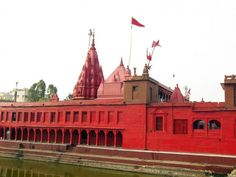 Maa Durga #Temple in #Varanasi It is believed that the Goddess appeared on its own in this temple in the form of a statue (murti) that is still there in the inner sanctum.