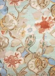 Jaipur Rugs Blue Petal Pusher Bl71 Celadon - Forget-me-not Area Rug