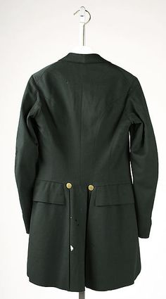 Cutaway coat