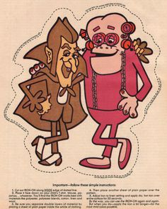 Count Chocula and Franken Berry - The monster cereals are a line of breakfast cereals produced by General Mills Corporation in North America. The line was introduced in Retro Halloween, Halloween Night, Halloween Crafts, Happy Halloween, Saturday Morning Cartoons, Retro Advertising, 80s Kids, Cartoon Characters, Fictional Characters