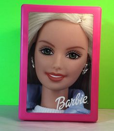 Mattel 2000 Barbie Doll Pink Plastic Trunk Made in The USA   eBay