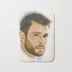 Buy A Tribute to CHRIS HEMSWORTH Bath Mat by naumovski. #illustration #portrait #hollywood #film #icon #celebrity #actor #movie #poster #model #artwork #legend #people #painting #fanart #popart #canvas #popculture #fashion #decor #modern #celebrities #quotes #redbubble #society6 #teepublic #inprnt #actors #art #gift #drawings #inprnt --> Feel free to check out MORE ARTWORKS here --> https://linktr.ee/naumovski.dusan