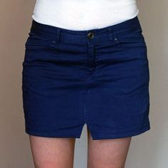 turn a worn out pair of pants into a cute skirt! Easy sewing tutorial