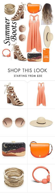 """Don't Call Me Baby"" by elena-ripa ❤ liked on Polyvore featuring Franco Sarto, Chloé, Silvia Furmanovich, Victoria Beckham, Sole Society, Urbanears and Dsquared2"