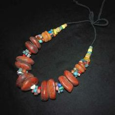 Tribal Belly Dance Jewelry Moroccan Tribal Bead Necklace