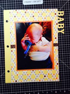 Simple Fun Crafter: CTMH Cricut Artbooking Mini Album Page