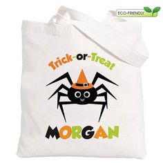 Hey, I found this really awesome Etsy listing at https://www.etsy.com/listing/82691171/personalized-trick-or-treat-bag