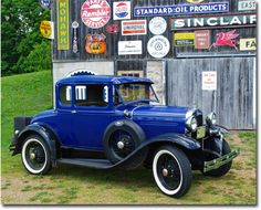 """Cool photos of """"Good ol' cars and trucks"""" of Wisconsin."""