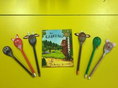 The gruffalo story spoons